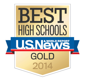 U.S.News & World Report Best High School-#3 in VA, #55 in US